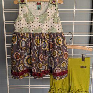 Matilda Jane 2 piece short/tunic set